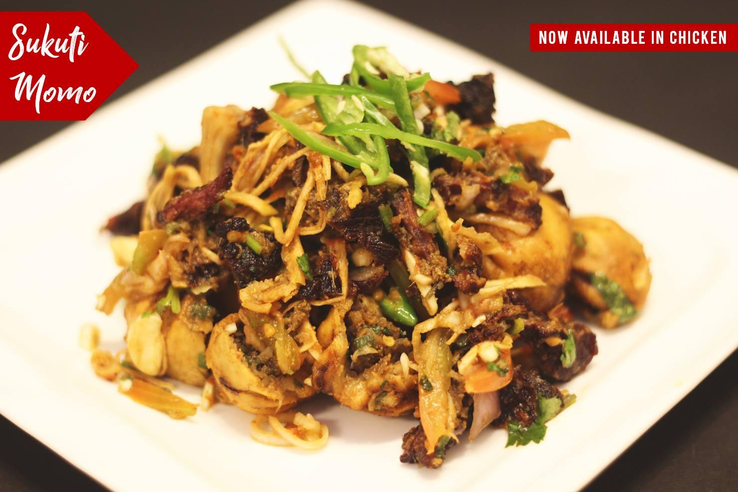 Sukuti Momo- Sinka Meal Nepal